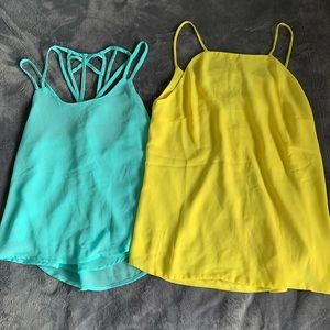3 Summer/Vacation Flowy Tops - Small